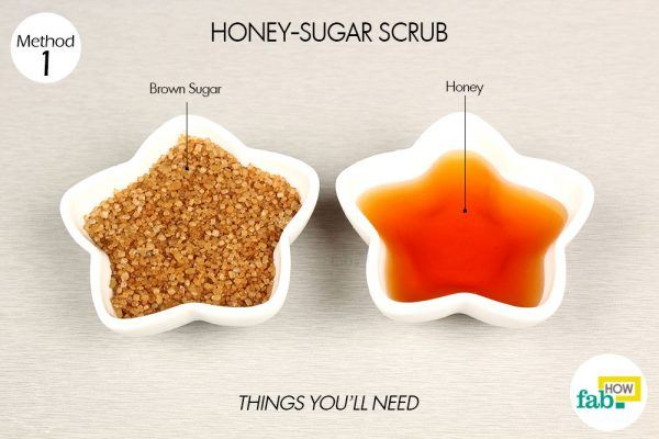 honey-sugar scrub things need