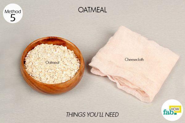 oatmeal for eczema