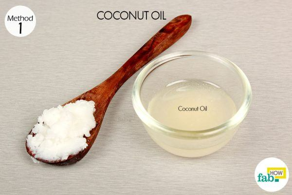 melted coconut oil for eczema things need