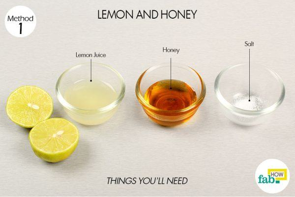 lemon and honey for freckles things need