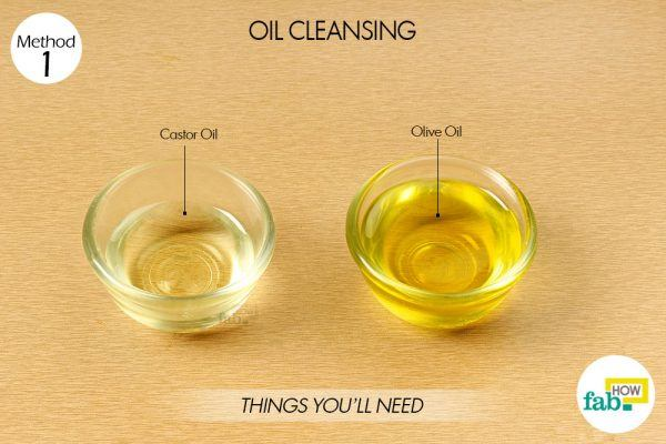 things need for oil cleansing for glowing skin