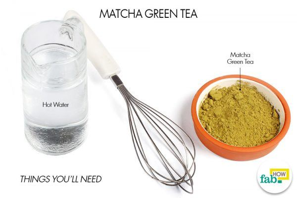 things need for matcha green tea