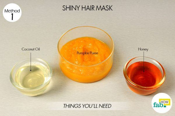 pumpkin shiny hair mask things need