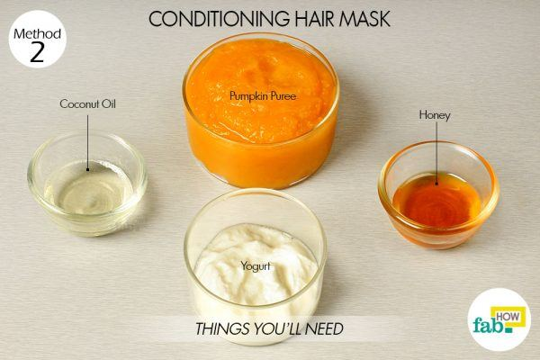 pumpkin conditioning hair mask things need