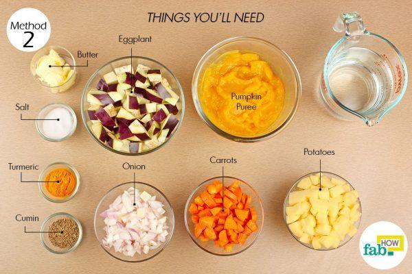 make pumpkin soup things need