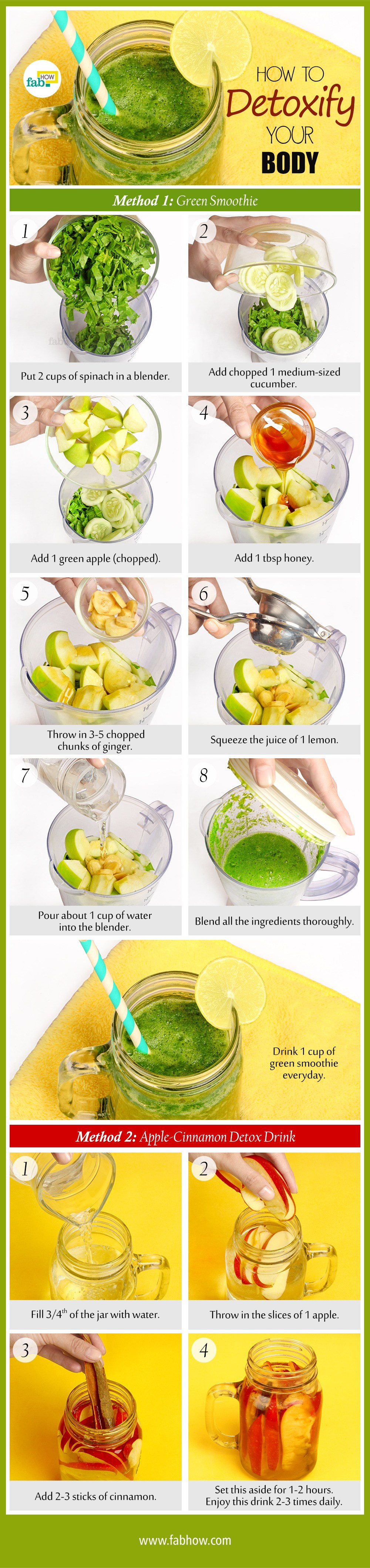 Ways To Detox Your Body Naturally