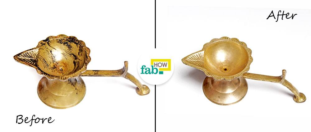 How to Clean Brassware (5 Easy Methods with Real Pics) | Fab How