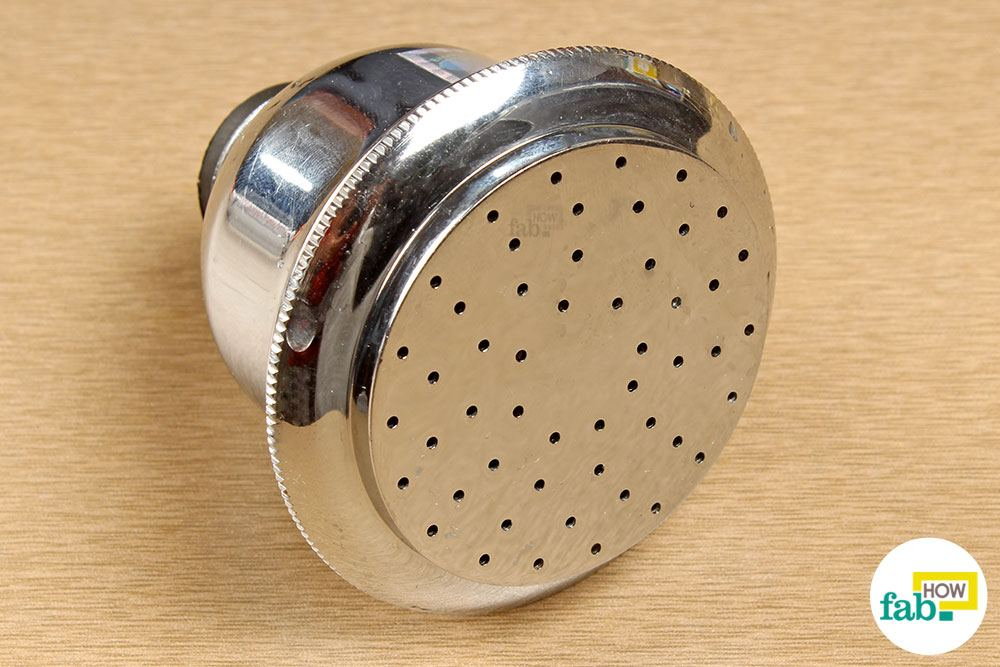 Clean Your Shower Head With Vinegar