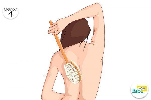 dry brushing for keratosis pilaris