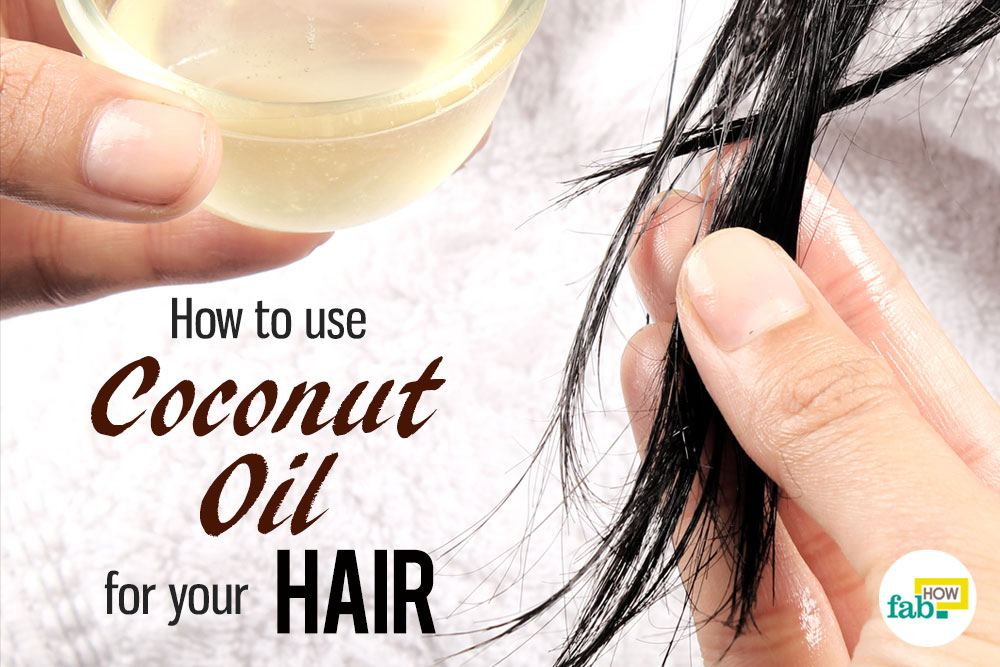 coconut oil to style hair how to use coconut for your hair fab how 8606 | feat coconut oil for your hair