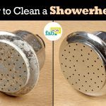 clean a showerhead