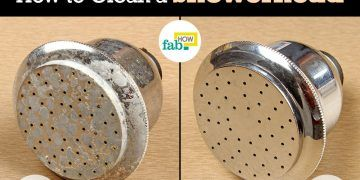 clean a showerhead