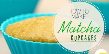 how to make matcha cup cakes