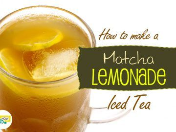 matcha lemonade iced tea