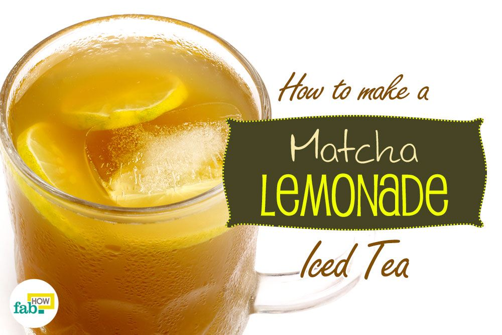 matcha lemonade iced tea