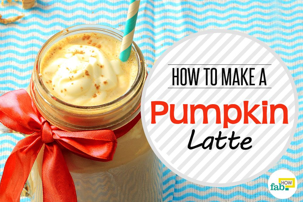 How To Make A Pumpkin Spice Latte Recipe — Dishmaps