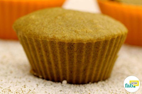 matcha cupcakes made from milk