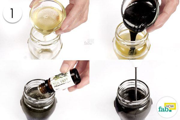 mix coconut oil shampoo essential oil for lice prevention