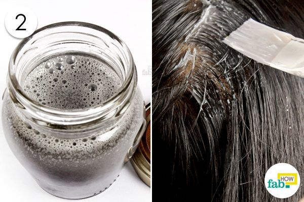 apply coconut oil shampoo for lice prevention