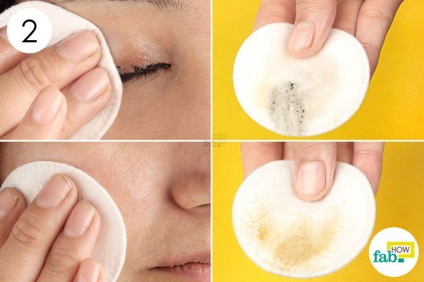 use coconut oil to remove make up