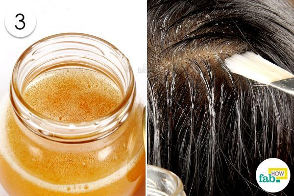 apply it on your hair dor dary, damaged and frizzy hair