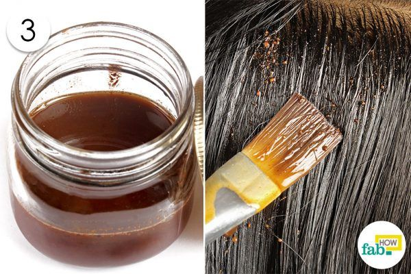 coat your hair with coconut oil and gooseberry powder mixture to prevent gray hair
