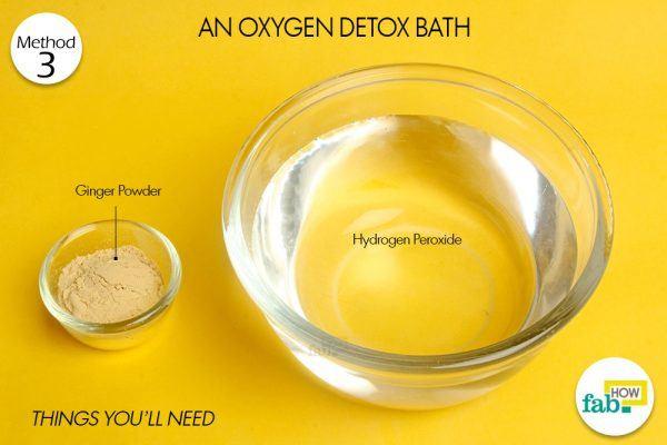 oxygen detox bath to detox your body