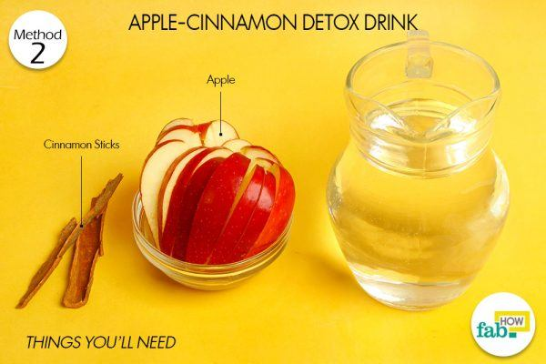 apple cinnamon drink to detoxify body things need