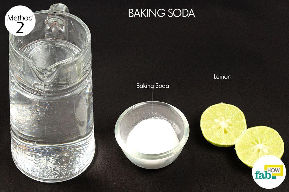Baking Soda Lemon Water Drink