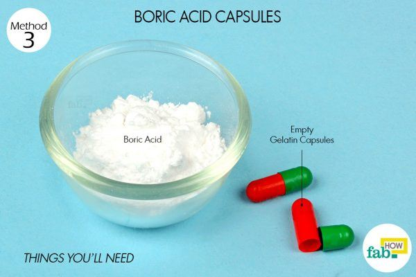 boric acid capsules for yeast infection