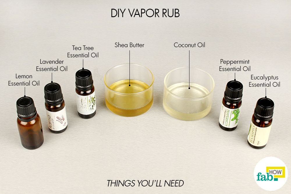 How To Make Your Own Natural Vapor Rub Fab How