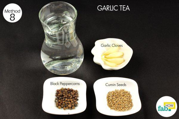 garlic tea for gas and bloating things need
