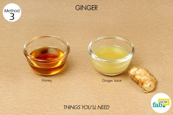 ginger for whooping cough