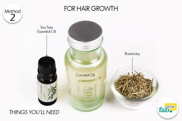hot coconut oil for hair growth things need