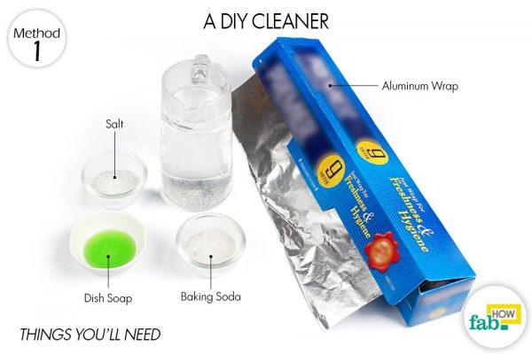 diy cleaner to clean gold