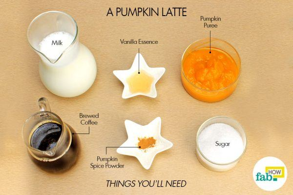 pumpkin latte things need