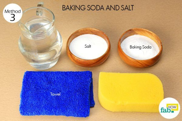 baking soda and salt red wine stains from wall things need