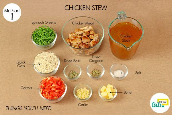 chicken stew for whooping cough