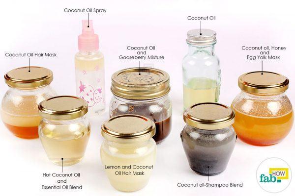 coconut oil on hair