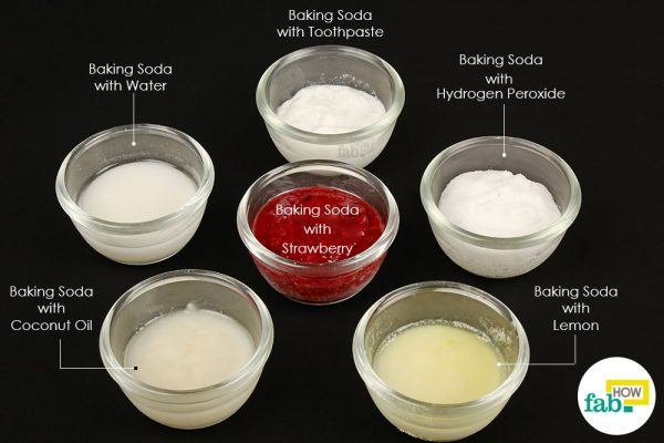 baking soda remedies for instant teeth whitening