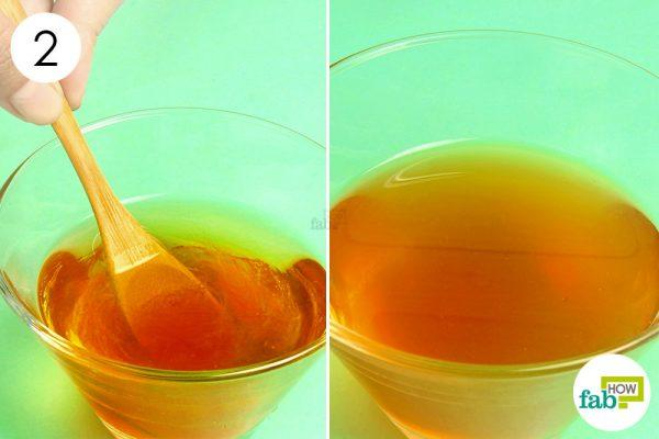 apple cider vinegar and honey mix for acid reflux