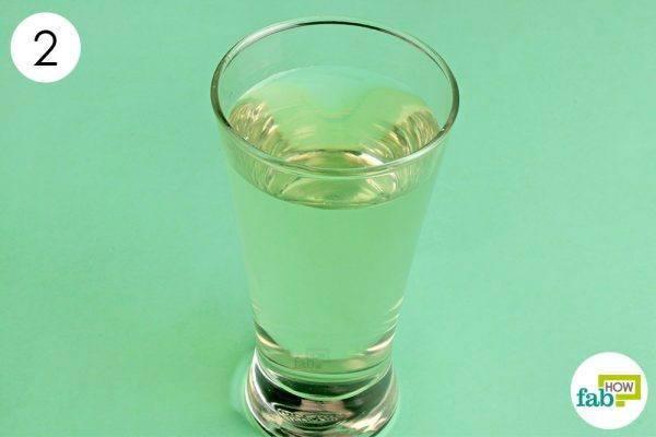 acv-water to get rid of nausea