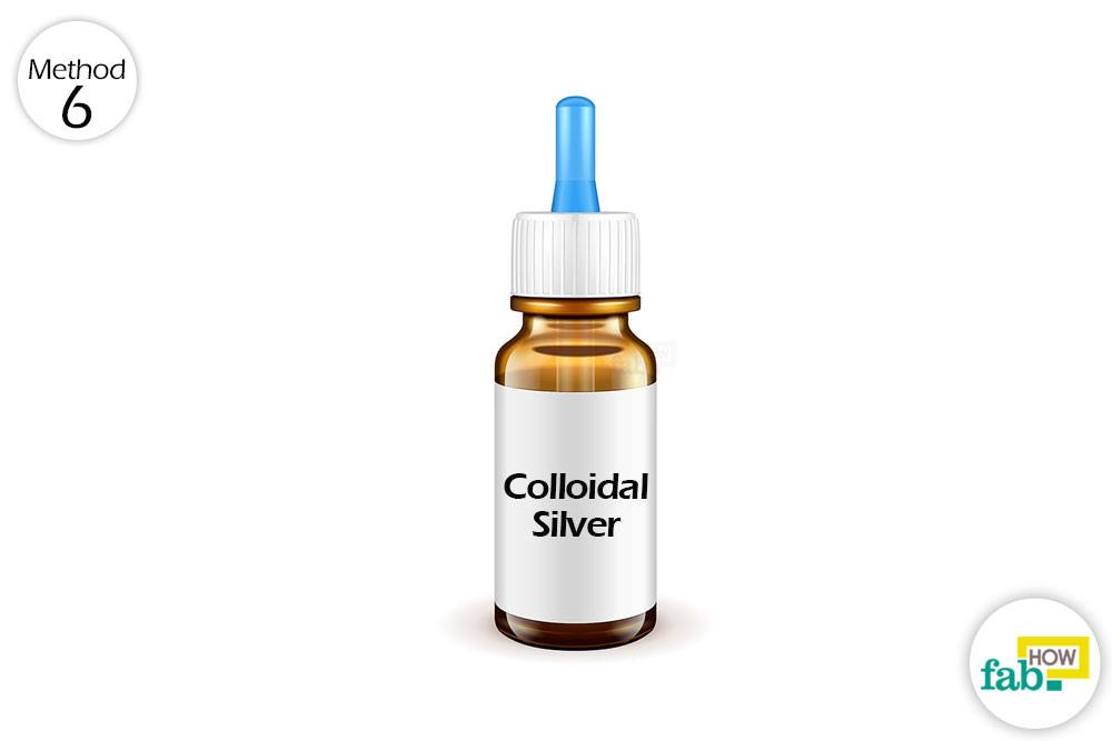 how to use colloidal silver for the eye infections