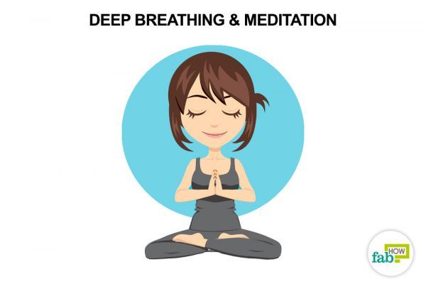 meditate to reduce stress