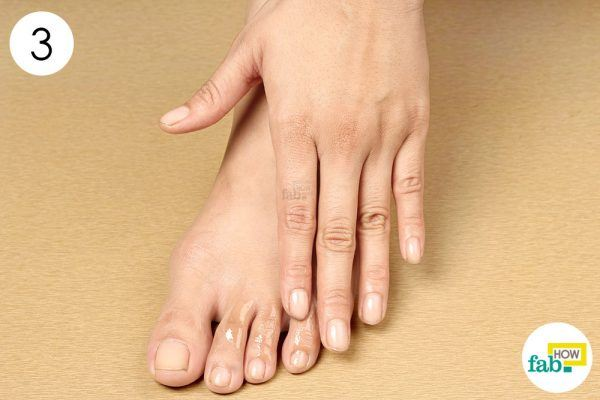 massage essential oil to get rid of chilblains