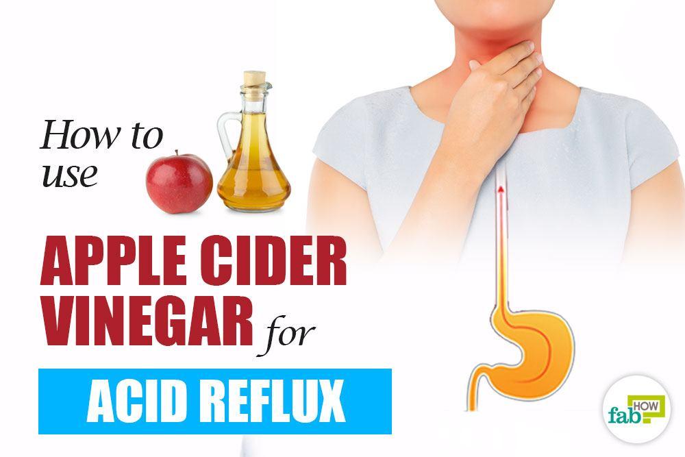apple cider vinegar for acid reflux