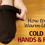 warm up cold hands and feet