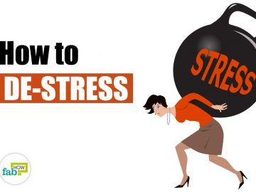 how to de-stress