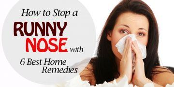 stop a runny nose