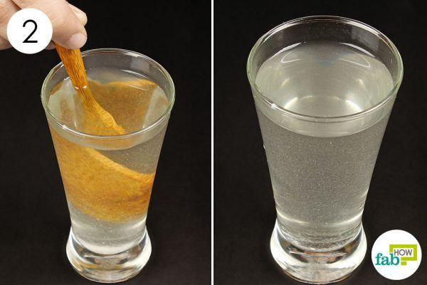 gragle with salt water to treat phlegm